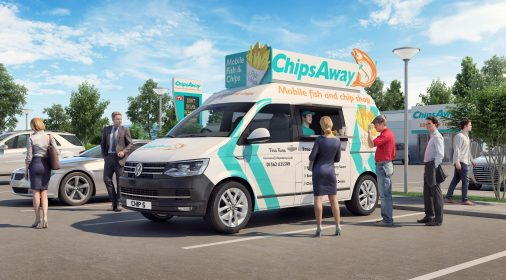 Chipsaway fish and chip van