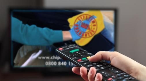Chipsaway TV advert