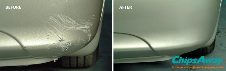 Mobile Car Bumper Scratch & Scuff Repair | ChipsAway