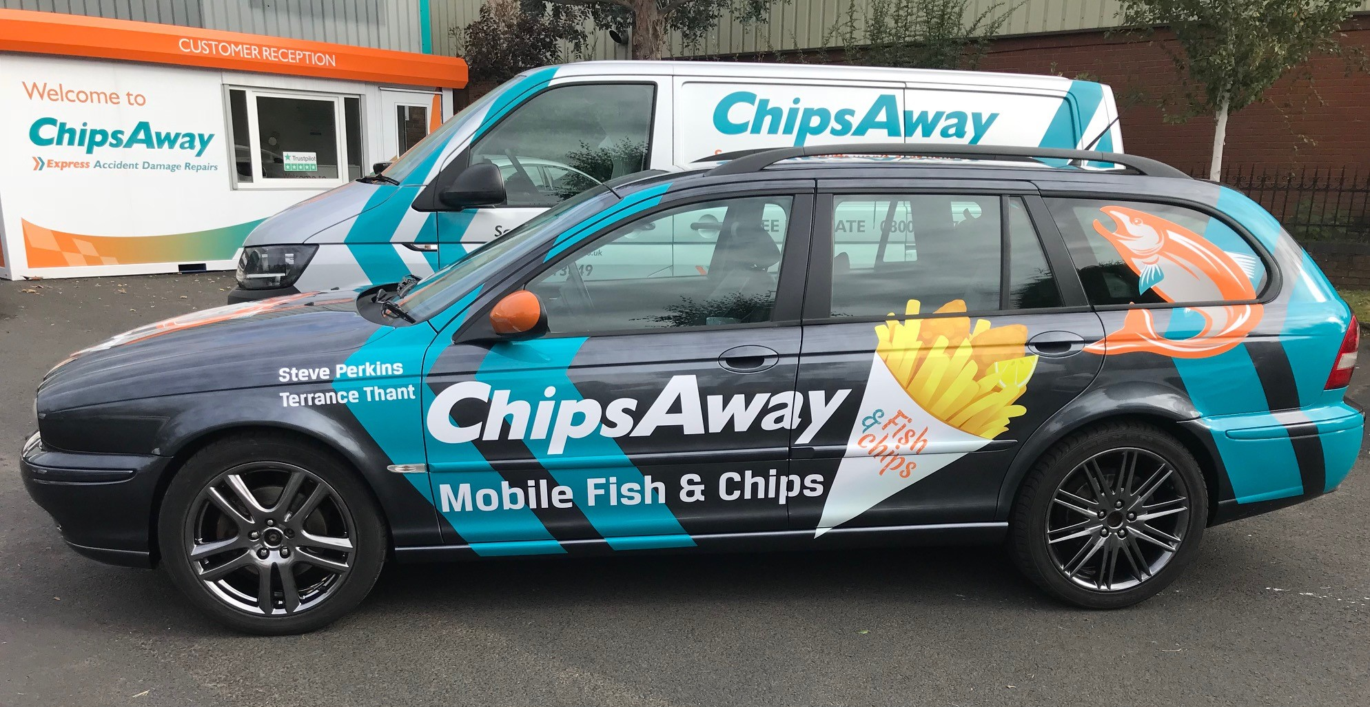 Bangers4Ben Car Mobile Fish and Chips