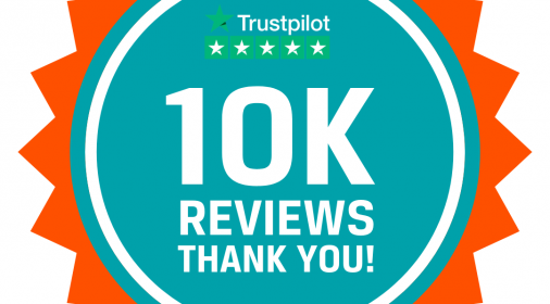 ChipsAway recieve 10,000 trustpilot reviews