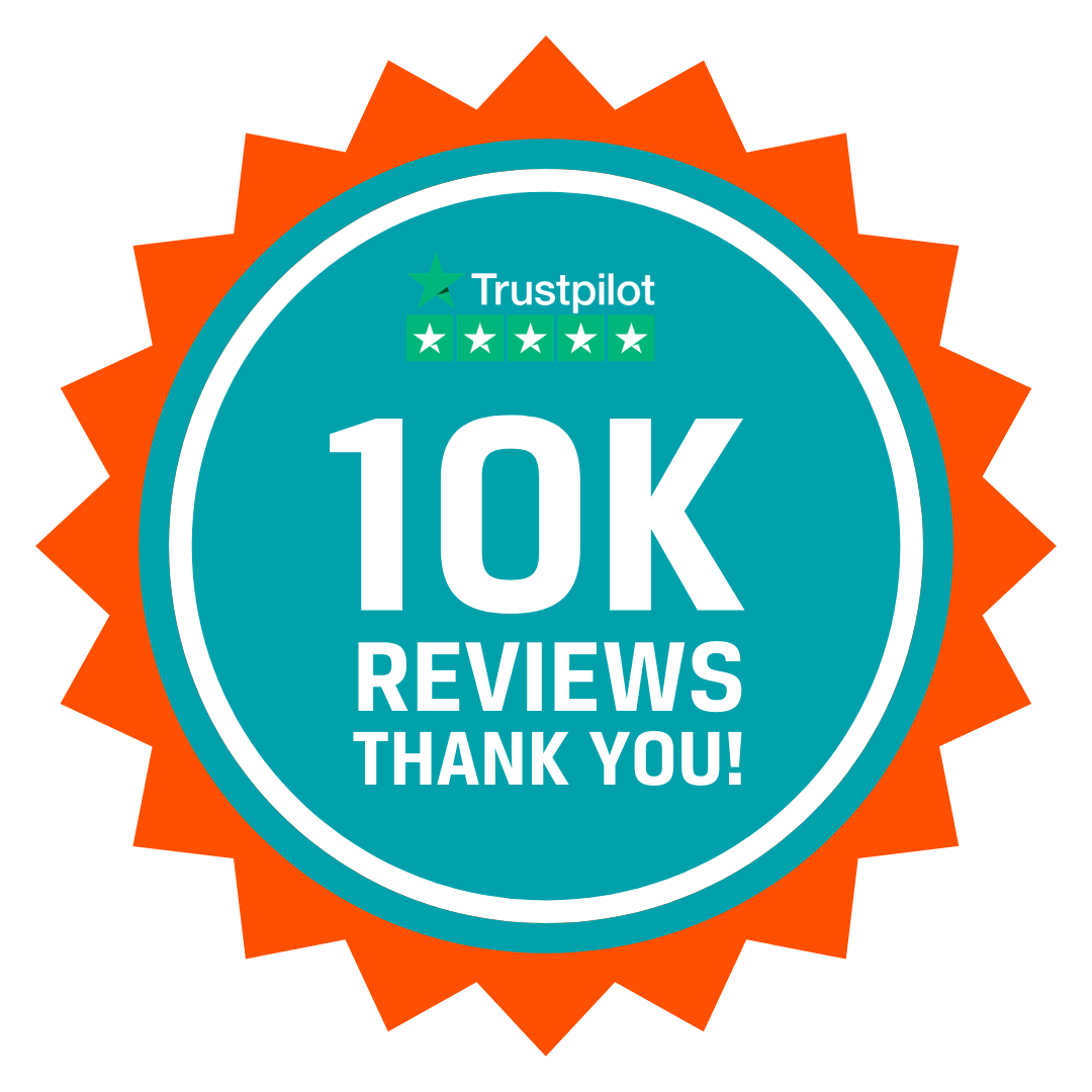 ChipsAway recieve 10,000 trustpilot reviews