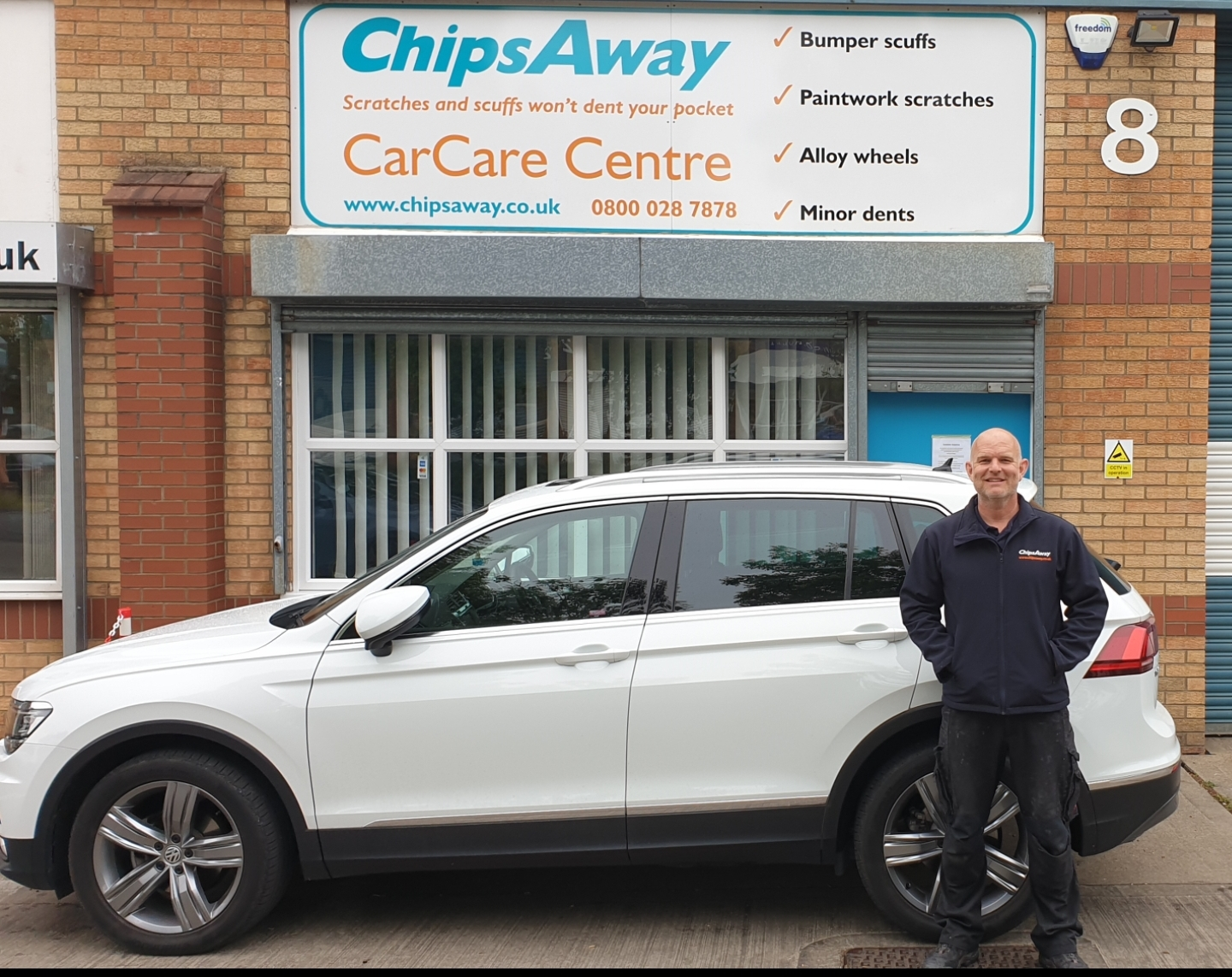 Robert Ashmore of ChipsAway Lincoln