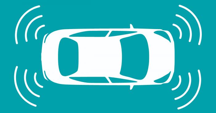 Diagram of Parking Sensors